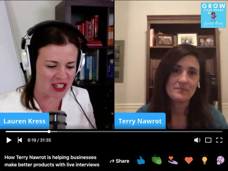 Grow Your Brand Show: Helping businesses make better products with live interviews
