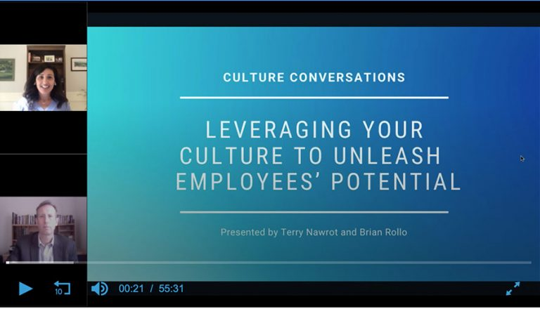 Culture Conversations: Leveraging Your Culture to Unleash Your Employees' Potential